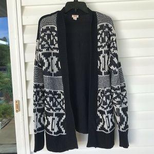 3 for $15 Geometric Print Knit Cardigan Sweater